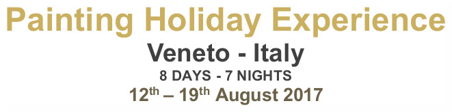Painting holiday experience in italy - Date
